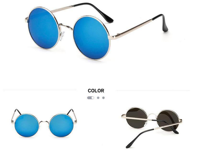 Kacamata Bulat Retro Pangeran Cermin Pria Terpolarisasi Bingkai Bulat Kacamata Hitam Wanita Kacamata Hitam Kacamata Hitam Logam By Superior Technology