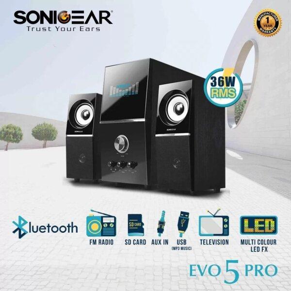 Sonic Gear Evo 5 Pro BTMI Speaker Malaysia