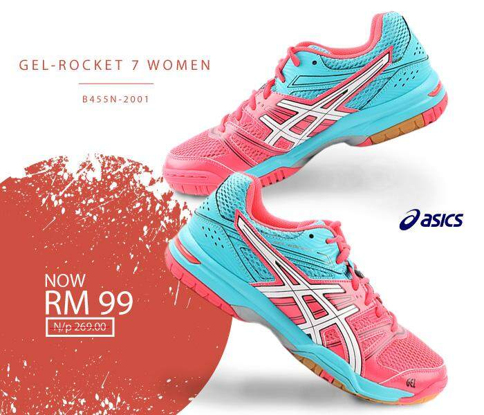 info for f3e01 556d8 ASICS GEL-ROCKET 7 WOMEN