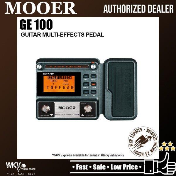 Mooer GE100 Guitar Multi-Effects Pedal (GE-100 / GE 100) Malaysia