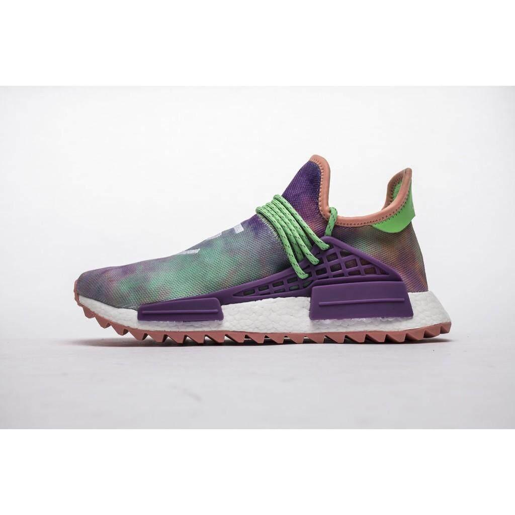 ยี่ห้อไหนดี  น่าน SLK★Pharrell x Adidas NMD กีฬาสำหรับทั้งหญิงและชายรองเท้า