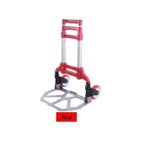 VIPPIE Foldable Multi-functional Portable Aluminum Trolley