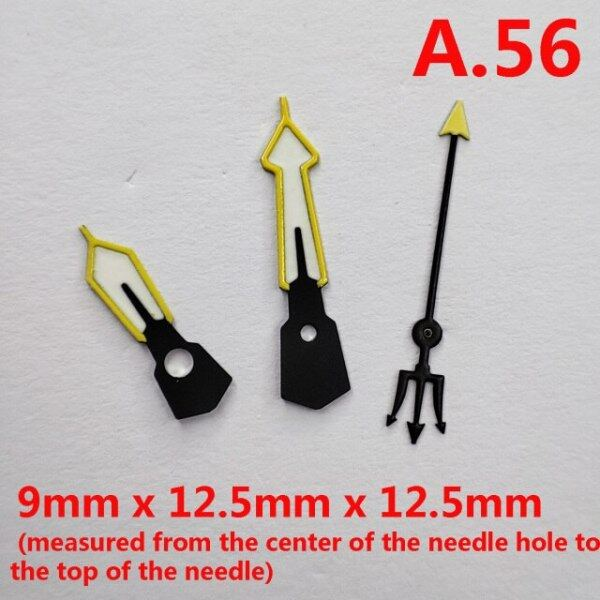 Watch pointer green luminous suitable for NH35 NH36 movement  watch pointer repair and replacement parts Malaysia