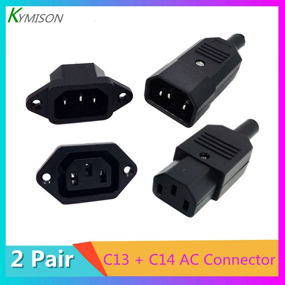 2pcs//set 4mm Female To Female Banana Coupler Plug Adapter Cable Connector CYN