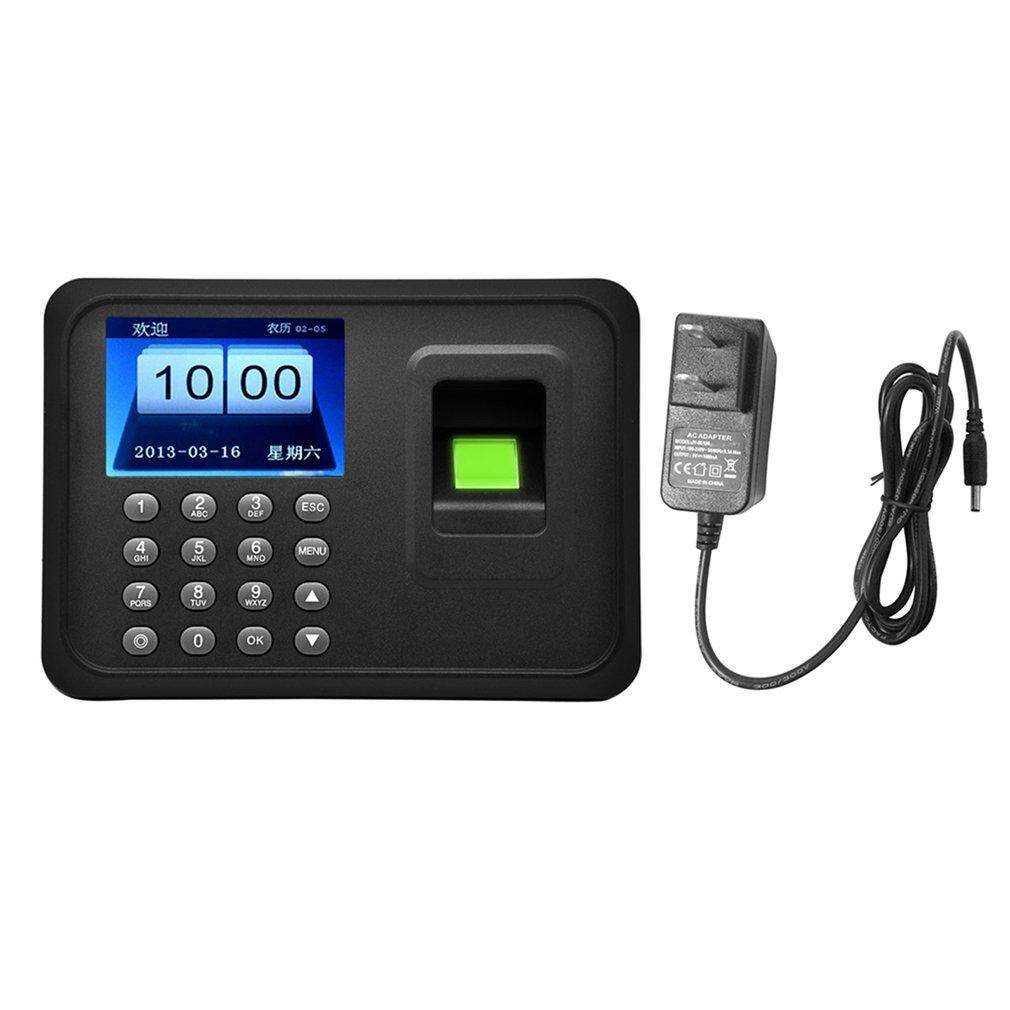 A6 Smart Attendance Machine Recorder Biometric Fingerprint Time Clock Reader