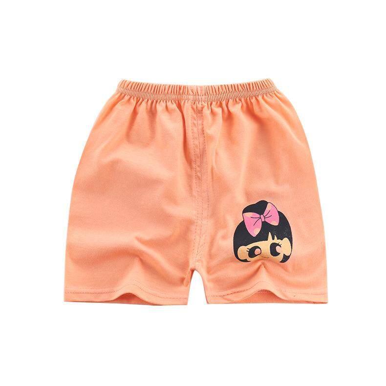 DeMeis Kids Thin Shorts Cartoon Pattern Cotton Panties for Summer Wear