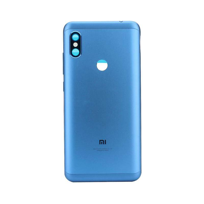 For Xiaomi Redmi Note 6 Pro Original Rear Back Cover Metal Battery Housing Door With Camera