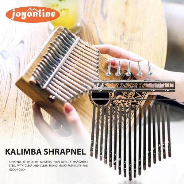 17 Keys Kalimba DIY Keys+Bridge Thumb Piano Musical Instrument Replacement Parts Malaysia