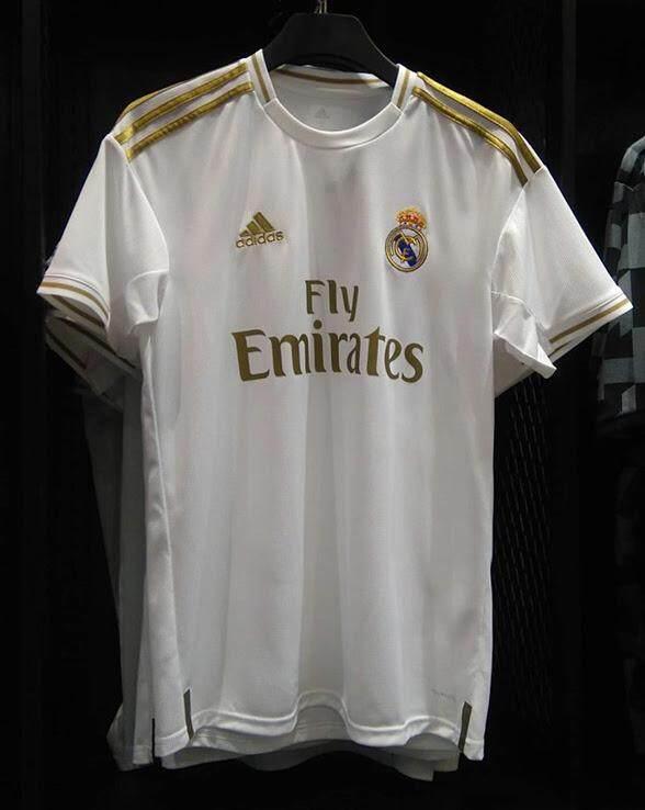 2019 2020 Real Madrid Home Jersey Putih