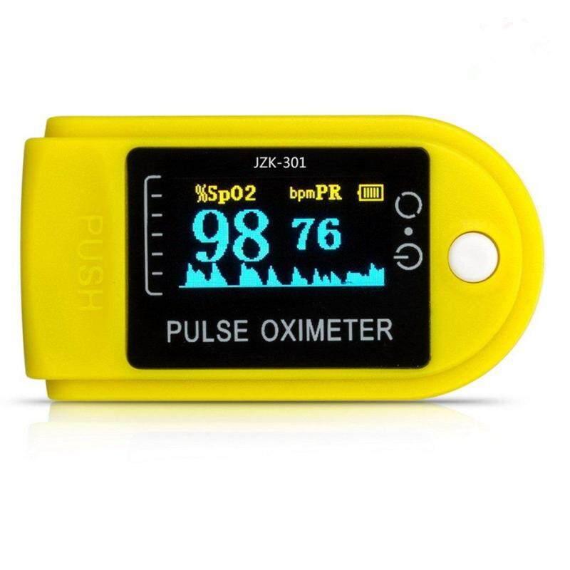 CFB Nhỏ Gọn OLED Ngón Tay Đầu Ngón Tay Huyết Pulse Oximeter Đầu Ngón Tay Pulse Oximeter (Vàng) bán chạy