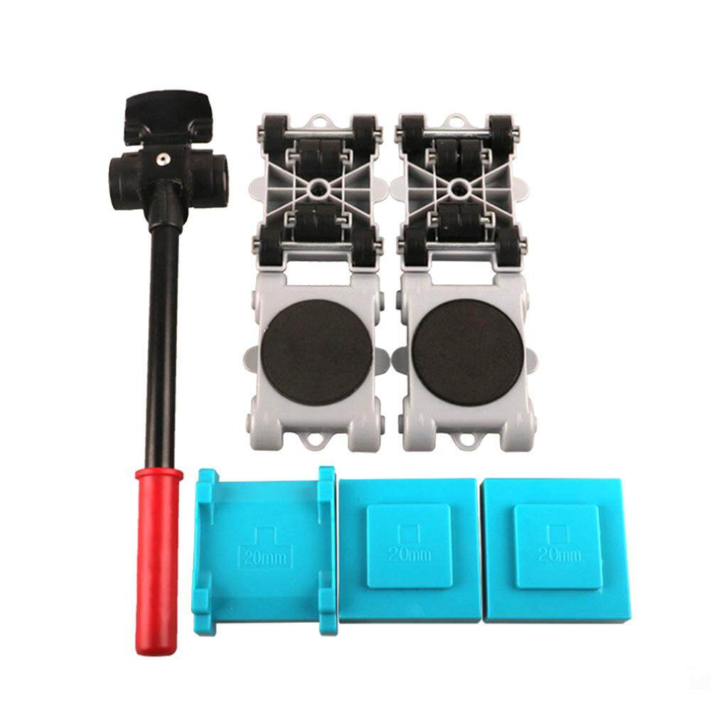 [Yige]8pcs Home Trolley Easy Furniture Lifter Mover Tool Set Moving Sliders