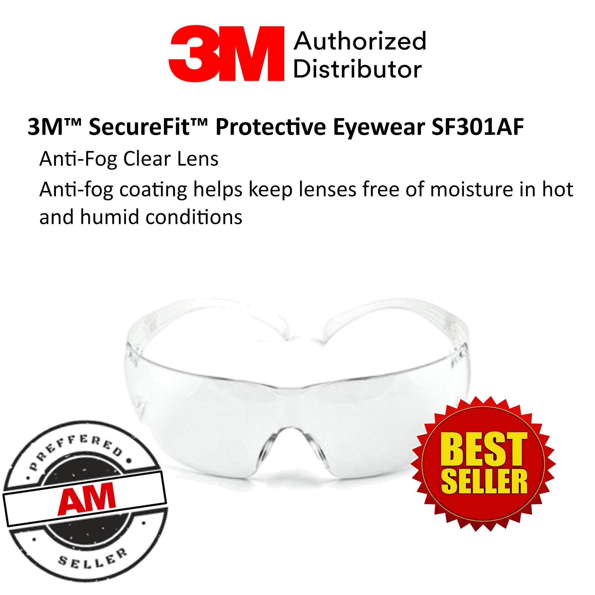 3M™ SecureFit™ Protective Eyewear SF301AF, Clear Lens