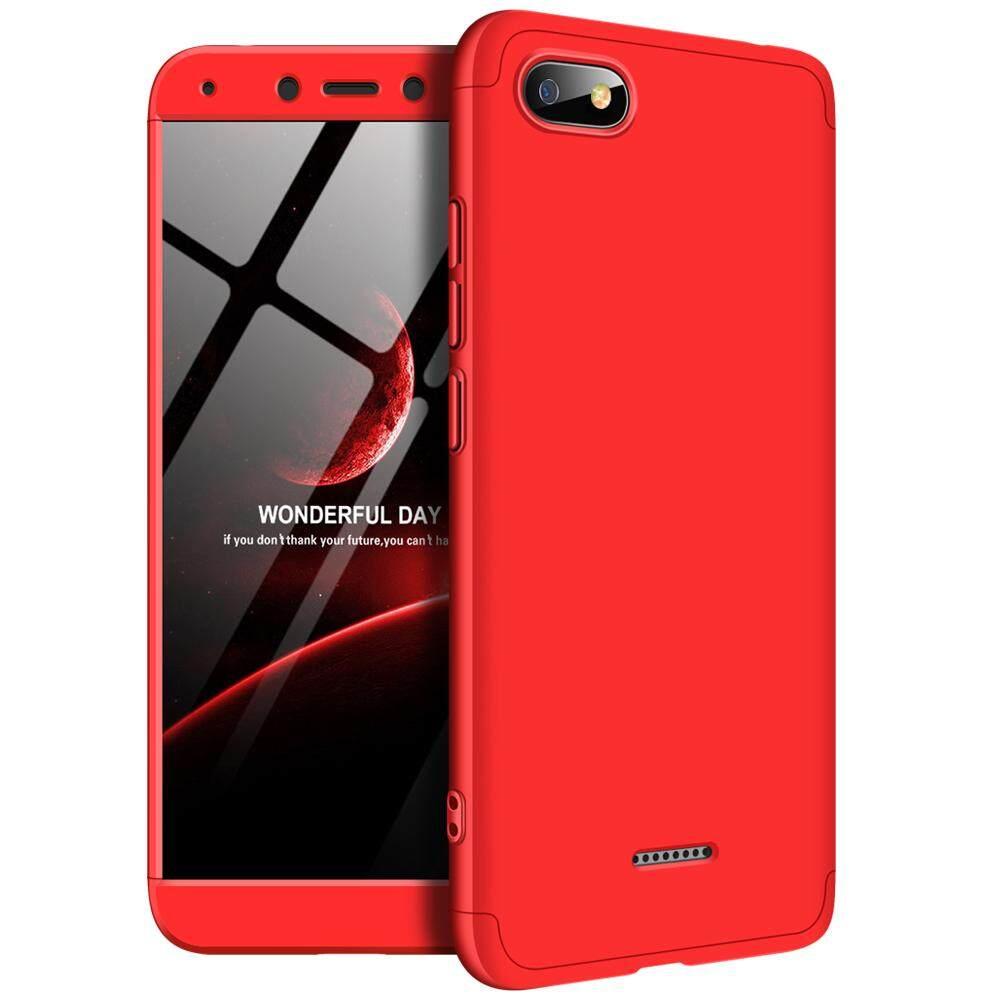 Xiaomi Redmi 6A Casing Case 360 Degree Full Protection Case Hard PC 3 In 1 Matte