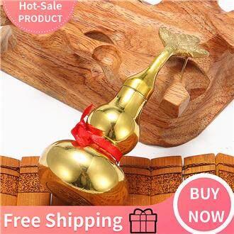 【Free Shipping】FENG SHUI BRASS METAL GOLDEN WU LOU LUO LU GUORD 4