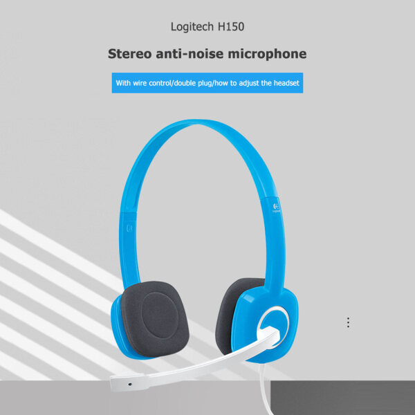 for Logitech H390 /H110 /H111 /H150 /H340 /G233 /G Pro X /H600 /G433 Over-ear Stereo Headphones Wired Headset with Microphone Singapore