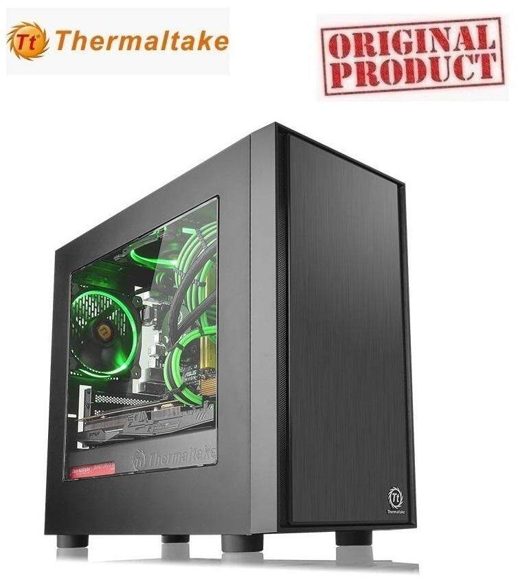 THERMALTAKE Casing VERSA H17 WINDOW (CA-1J1-00S1WN-00) BLACK Malaysia
