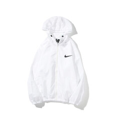 (New Arrival) OriginalˉNike Men's/women's/couples Coat Ultra-thin Material Sun Protection/wind Protection/no Burden Hoodies Windbreaker Spring Summer Long Sleeve Jacket Outdoor Sportswear Sun Protection Clothing