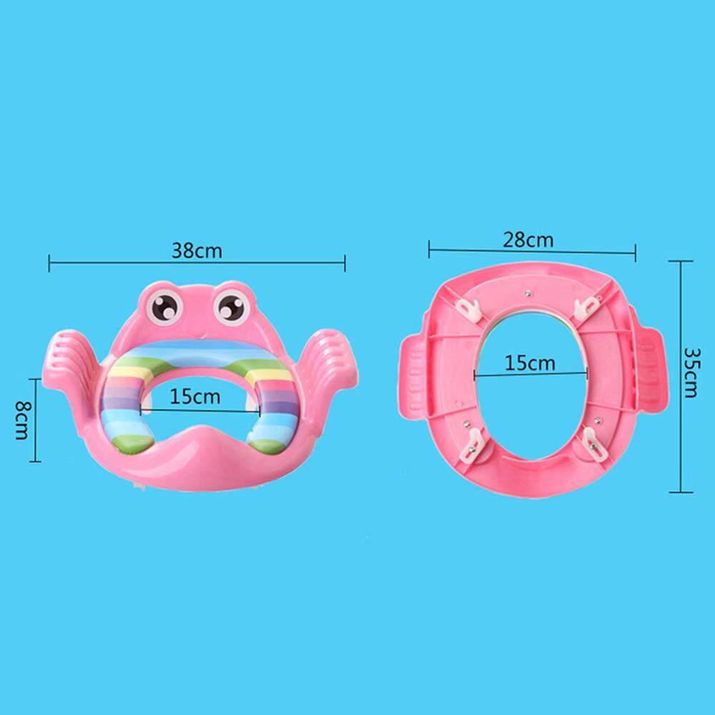 Safe Anti-slip Toilet Training Travel Cartoon Baby Kids Plastic Smooth Animal Shape Potty Seat