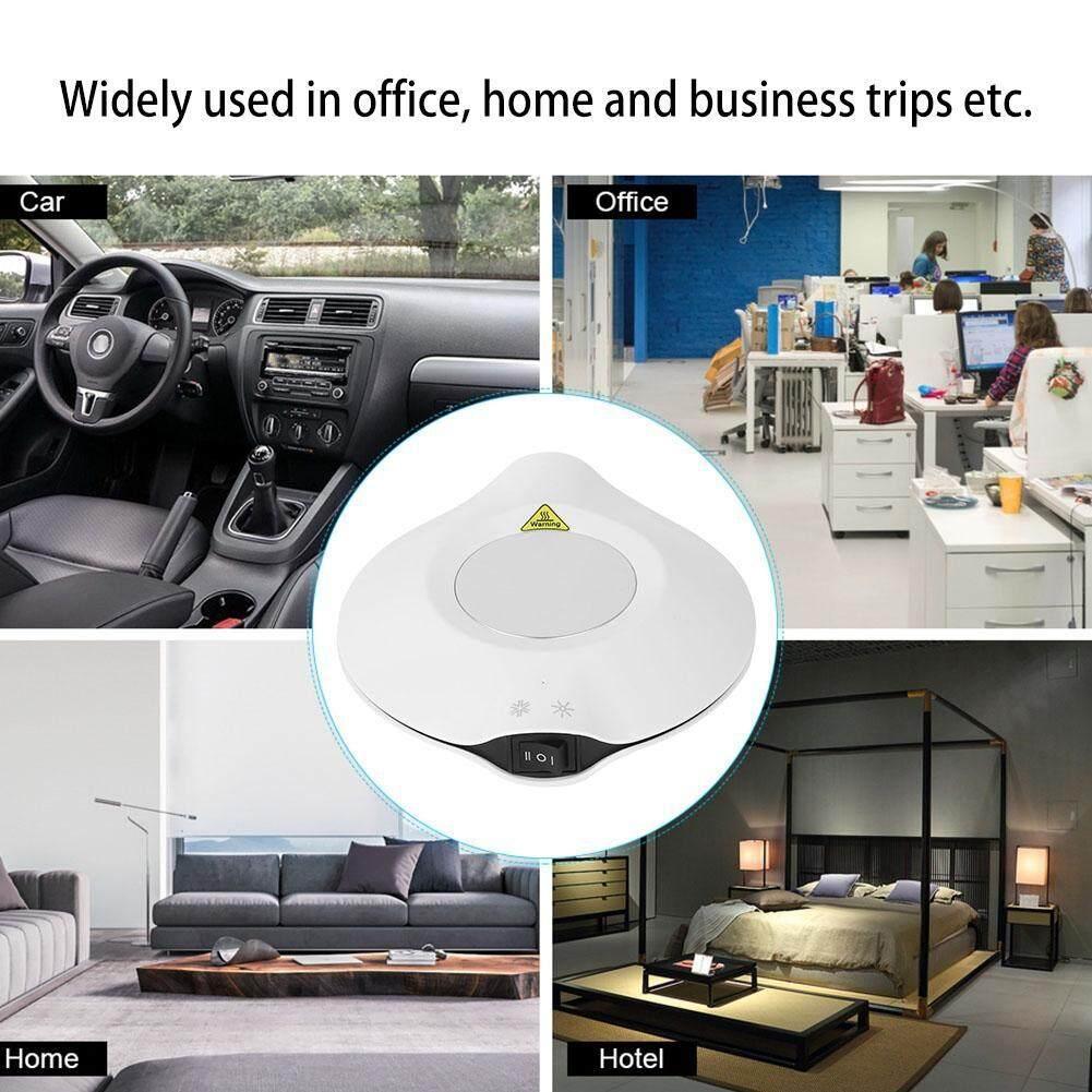 Qiaowei USB 2 trong 1 Cốc Nóng Tấm Làm Mát Lạnh Văn Phòng Để Bàn Làm Nóng Thiết Bị Làm Mát cho Cà Phê Trà