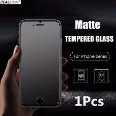 Zeallion 1 Miếng Dán Bảo Vệ Cho [Apple iPhone 5 6 6S 7 8 Plus X XR XS 11 12 Mini Pro Max] Miếng Dán Bảo Vệ Màn Hình Kính Cường Lực Mờ Không Vân Tay