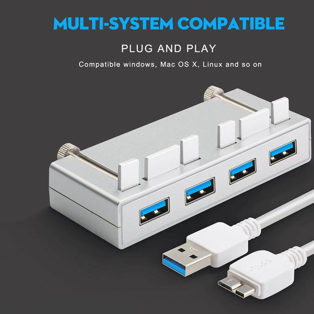 Rocketek 4 Port USB 3.0 Hub Splitter Adapter for iMac Slim Unibody Computer
