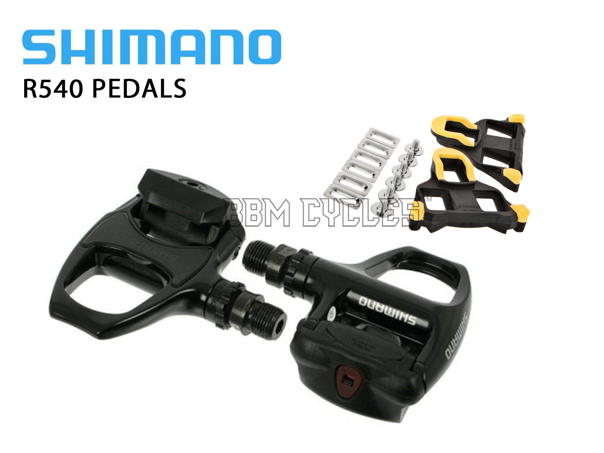 Shimano R540 SPD-SL Clipless Road bikes bicycle Pedals bike pedal clip