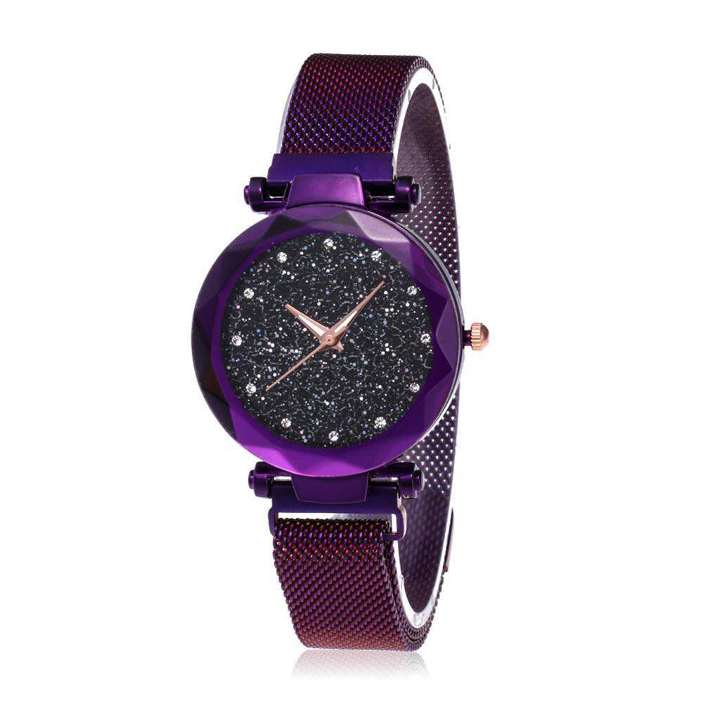Rodeal Starry Sky Watch Waterproof Magnet Strap Buckle Stainless Steel womens Watches Malaysia