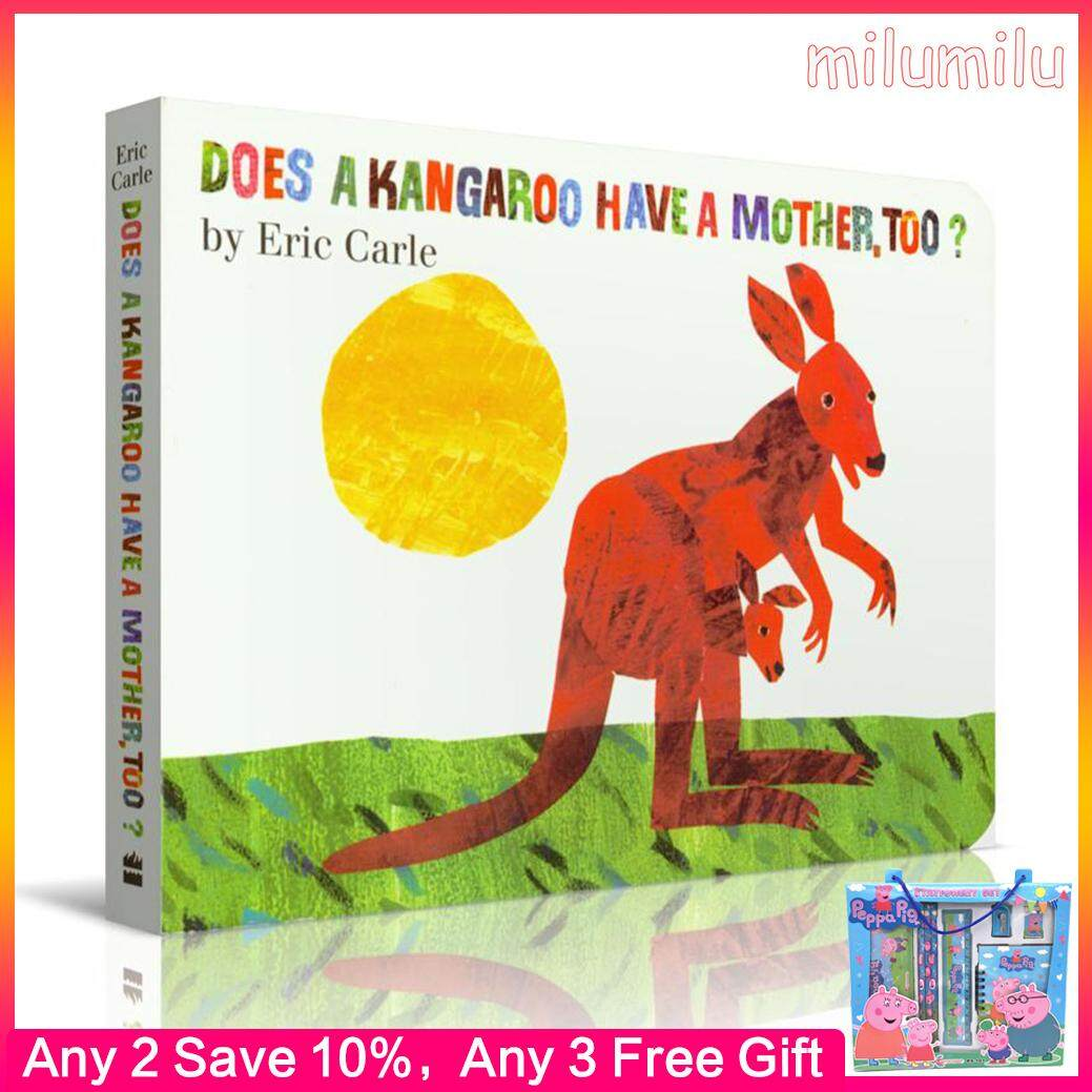 Original English Book Does A Kangaroo Have A Mother Too Board Book Children's Educational Toy Picture Book