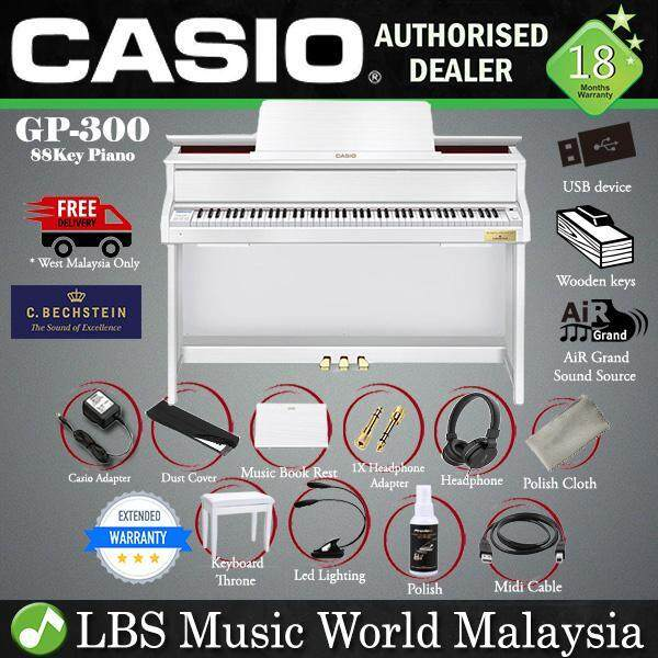 Casio GP-300 Celviano Grand Hybrid Digital Piano White (GP300 GP 300) Malaysia