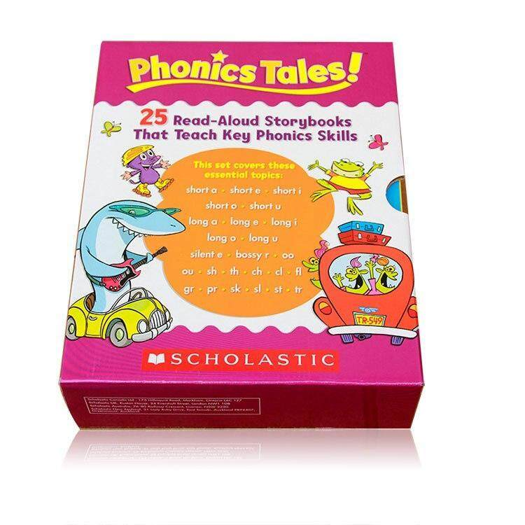 Phonics Tales 25 Read Aloud Storybooks That Teach Key Phonics SkillsEarly Learning Educational Kids Children English Word Study Story Picture Books