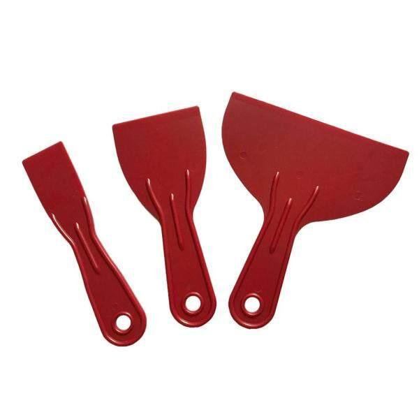 3pcs Spreader Filler Small Large Job Done Spatula Putty Reusable Easy Clean Hand Tools Scraper Set