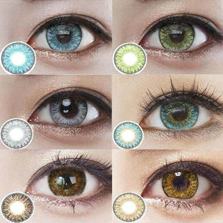 1 Pair Colorblends Cosmetic Brilliant Colored Contact Lens Yearly Use Cosmetic Color Contacts