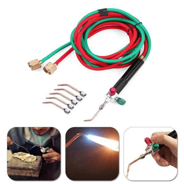GoodGreat Smith New Top Gas Torch Welding Soldering Little Torch Soldering With 5 Weld Tips