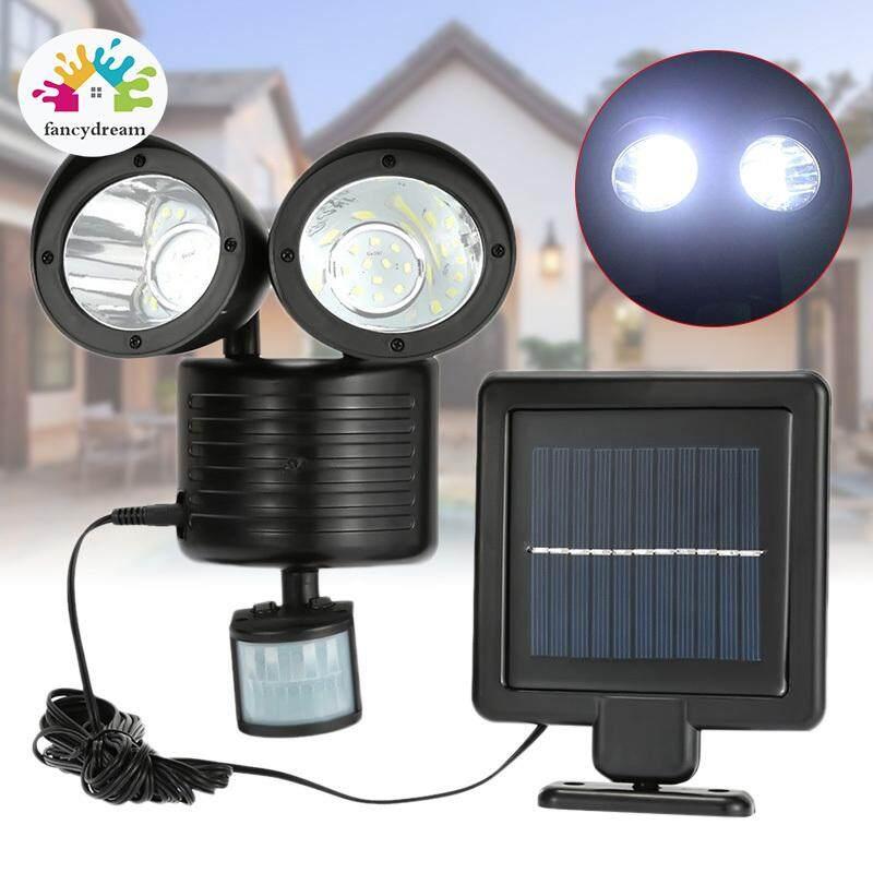 Fancydream 22 LED Kép An Ninh Báo Đèn Chiếu Sáng Năng Lượng Mặt Trời Cảm Biến