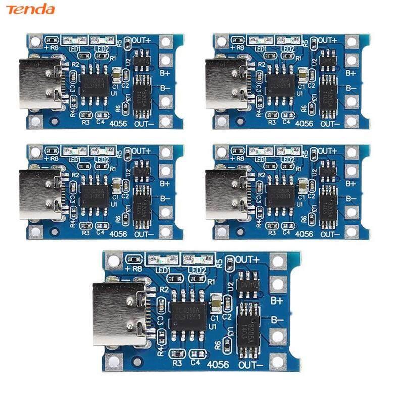 Bảng giá 5 Bảng Mạch Mô-đun Sạc Pin Lithium TP4056 1A, Bảo Vệ W/USB Type-C Phong Vũ