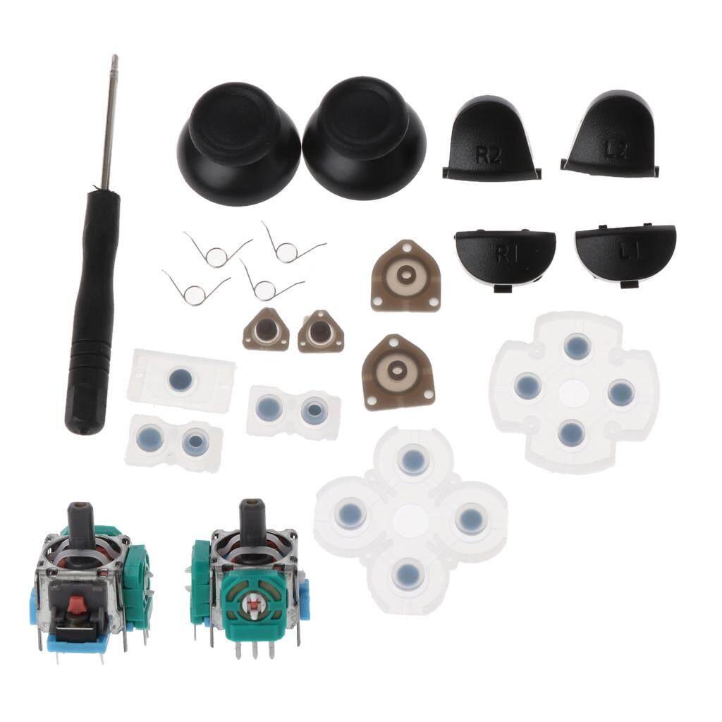 Nút Kích Hoạt L1 R1 L2 R2 Nắp Cần Điều Khiển Analog 3D Cao Su Dẫn Điện Bộ Sửa Chữa Bộ Điều Khiển PS4