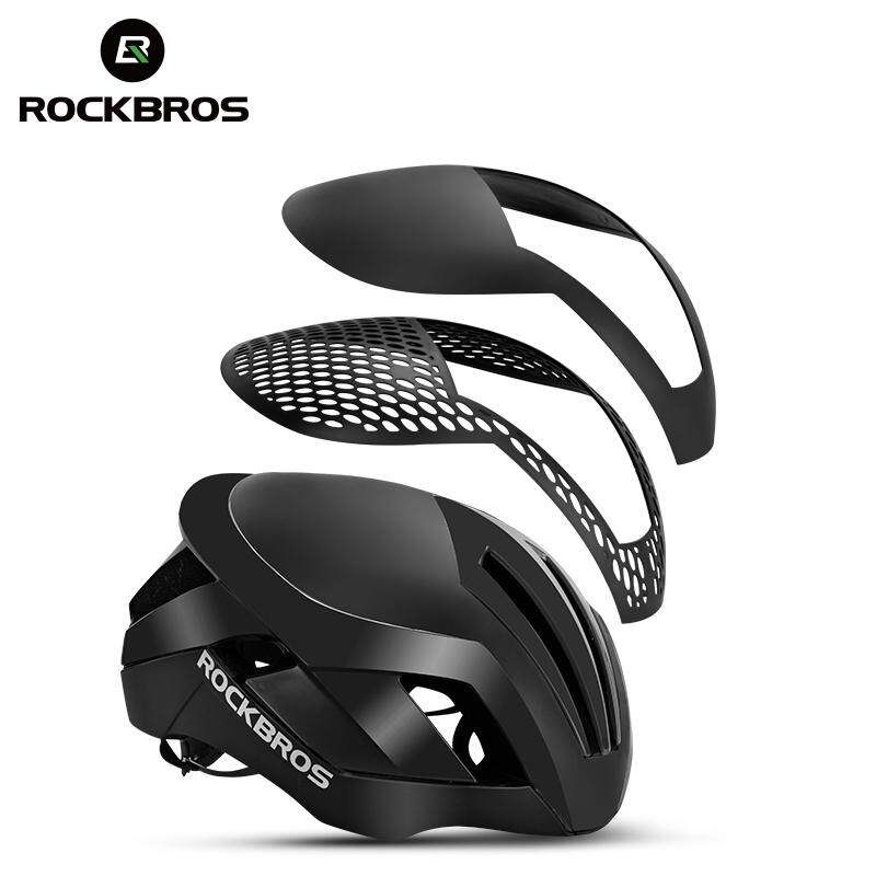 44523c9f7a ROCKBROS 3 in 1 Cycling Bike Bicycle Helmet EPS Reflective MTB Road Bicycle  Men Safety Light