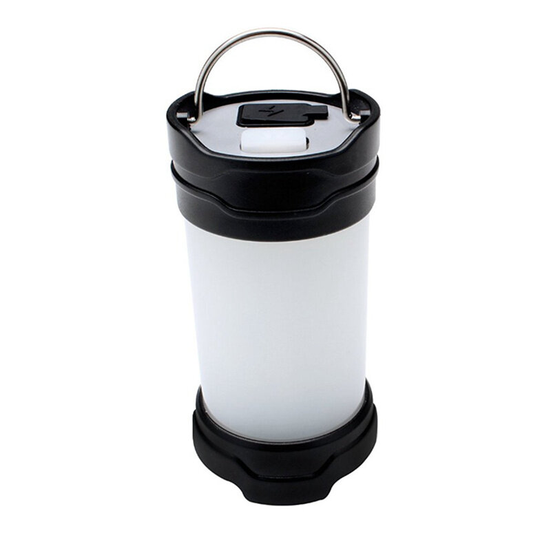 Rechargeable Portable Outdoor LED Camping Lantern Flashlight Waterproof Light with magnet and 18650 Battery