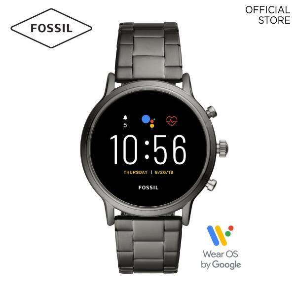 Fossil The Carlyle HR Grey Gen 5 Smart Watch FTW4024 Malaysia