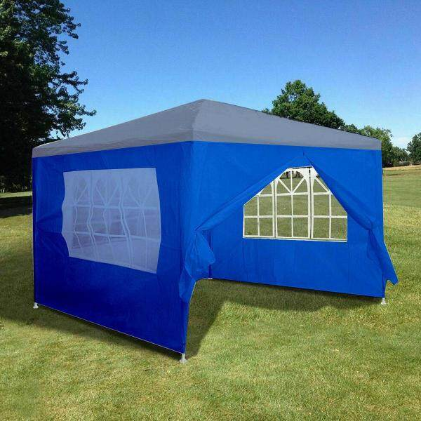 Outdoor 10x10ft Canopy Party Wedding Tent Gazebo Pavilion Cater Events 4 Sidewall