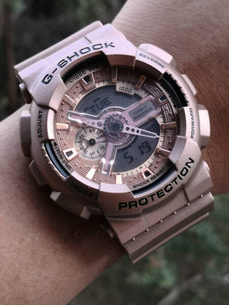 Ready Stock Original_G_Shock Watch GA 200RG 1A Men Sport Watch Duo W Time 200M Water Resistant Shockproof and Waterproof World Time LED Auto Light Wrist Sports Watches Malaysia