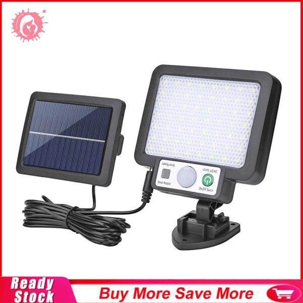 Đèn LED Gắn Tường Năng Lượng Mặt Trời Tách Rời, Đèn Cảm Biến Chuyển Động Không Thấm Nước Đèn Đường
