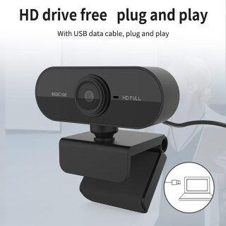 Webcam 2K 1080p Máy Ảnh Web HD Cho Máy Tính Máy Tính Để Bàn Máy Tính Xách Tay Video Cuộc Họp Lớp Học Camera Có Micrô, Webcam USB Điều Chỉnh 360 Độ Hỗ Trợ Webcam Win7 8 10 thumbnail
