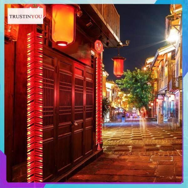 Bảng giá 92LED 1.35M Đèn Pháo Hoa Điện Tử Trung Quốc Đèn Dây LED Âm Thanh Trang Trí Treo Năm Mới