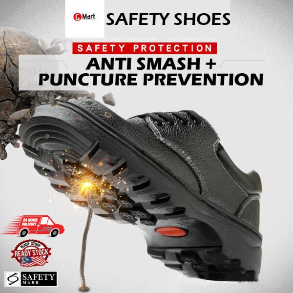 Kasut buruh rendah Safety Shoe Low Cut Steel Toe Cap Safety Shoes Boot  Kasut Buruh Keselamatan Kasut Kerja Lelaki Keluli Tahan Karat
