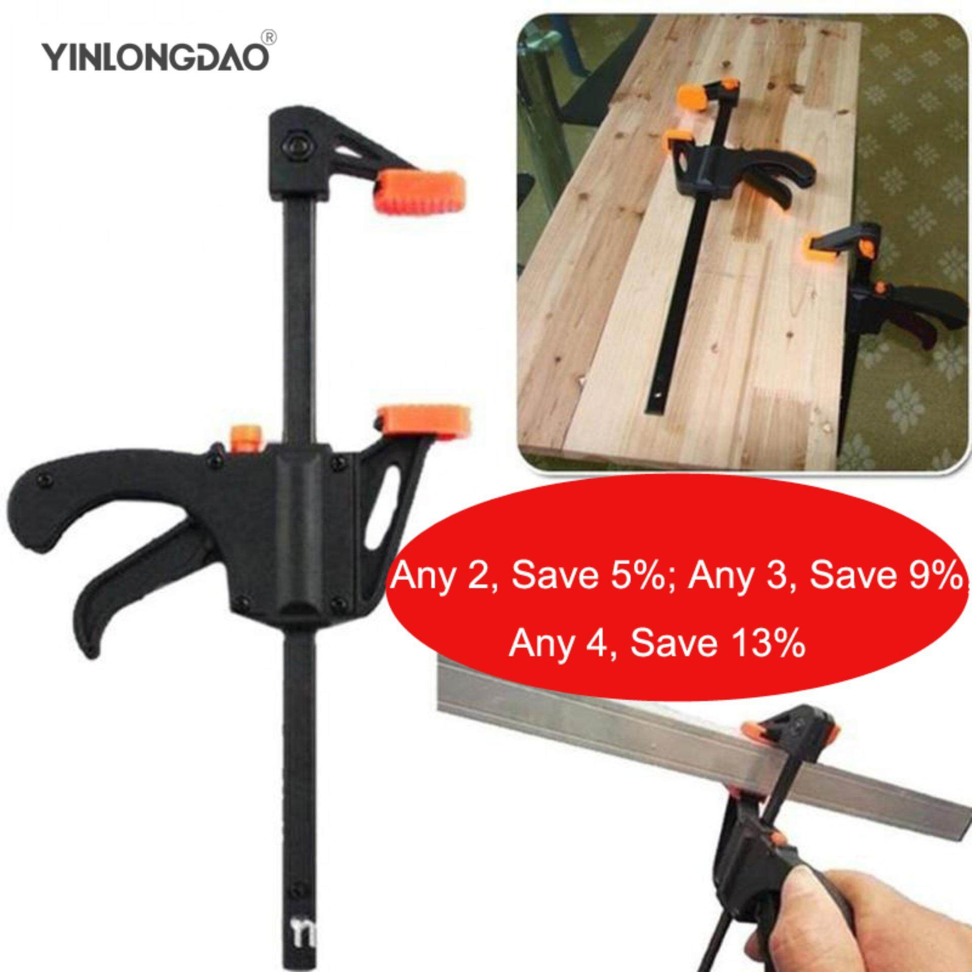 4 Inch Woodworking Clamp Quick Release Wood Working Bar F Clamp Clamping Device