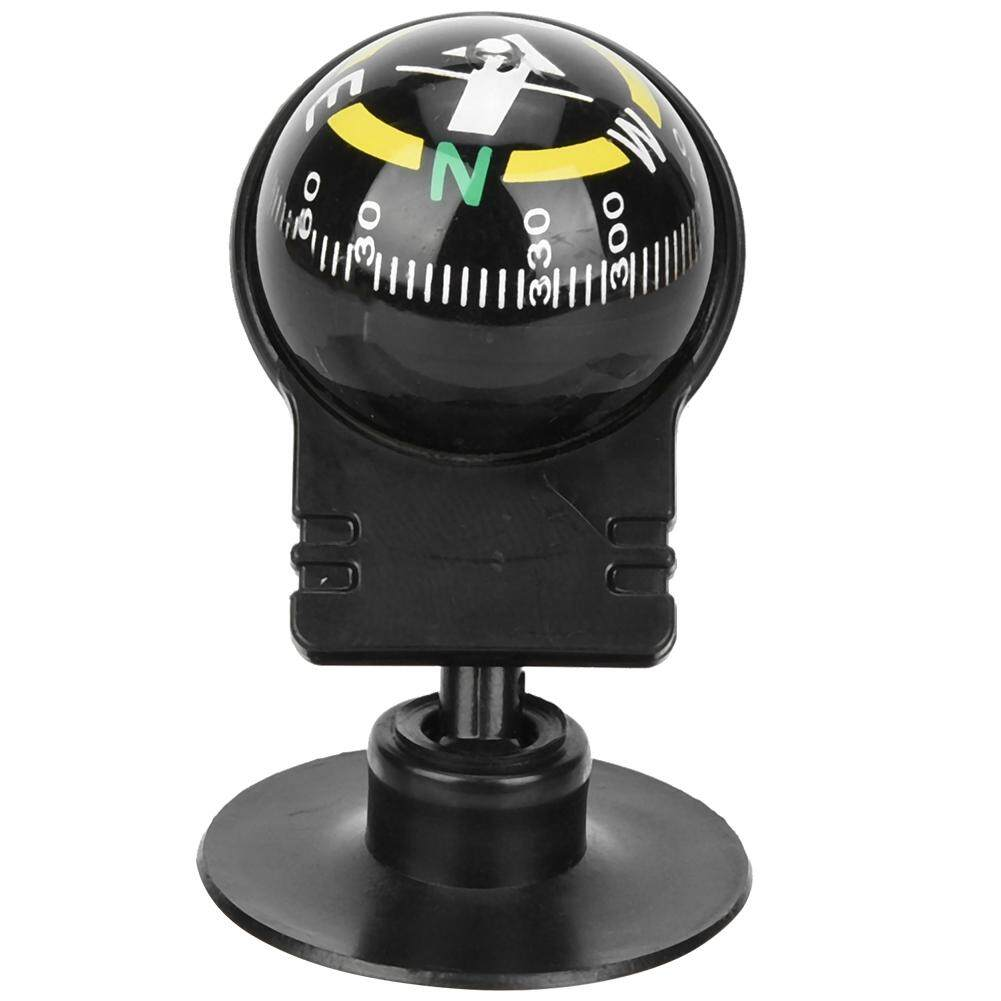 2PCS Portable Car Compass Guide Ball with Suction Cup Outdoor Navigation Tools