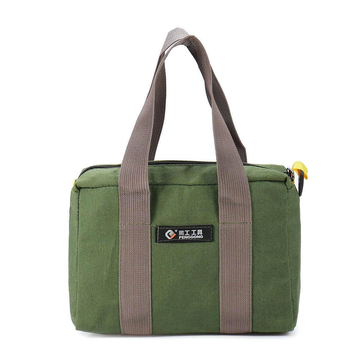 Multi-function Canvas Waterproof Storage Bag Hand Tool Bag Portable Toolkit Case # 14