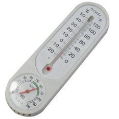 ใหม่แขวนผนังเครื่องวัดอุณหภูมิความชื้นอุณหภูมิสำหรับอนาล็อกครัวเรือนในร่มแขวนผนังสถานีอากาศทดสอบวัด