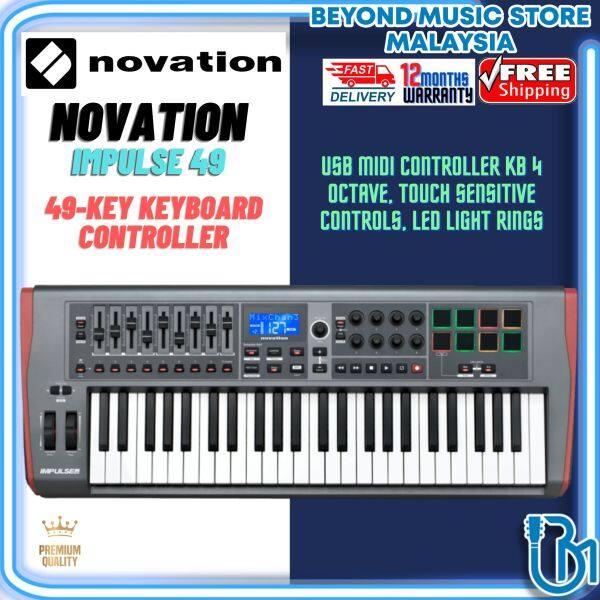 Novation Impulse 49 - USB MIDI Controlle Malaysia